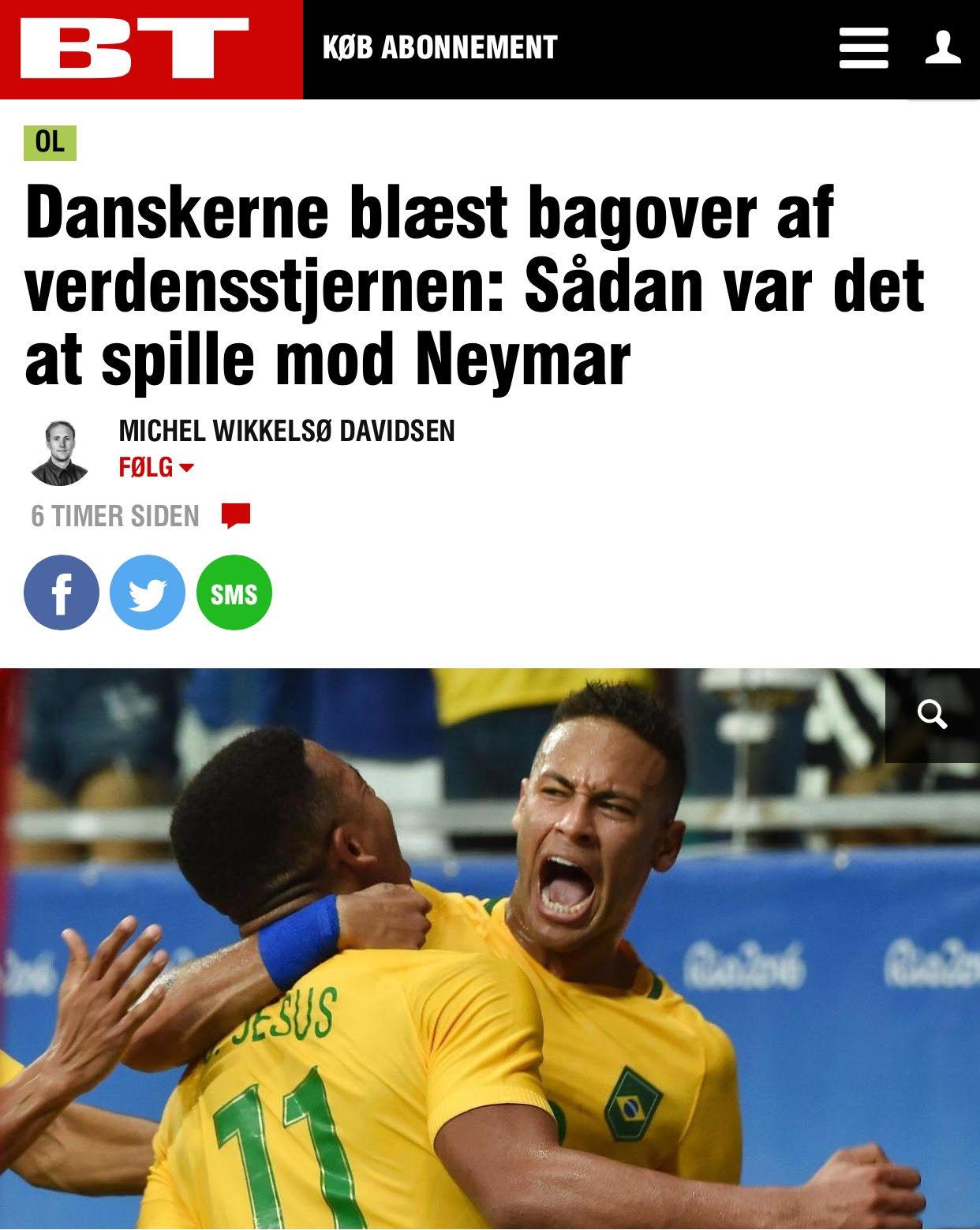 Jornal de Copenhagen diz que era muito difícil para os eles entenderem o clima desse jogo