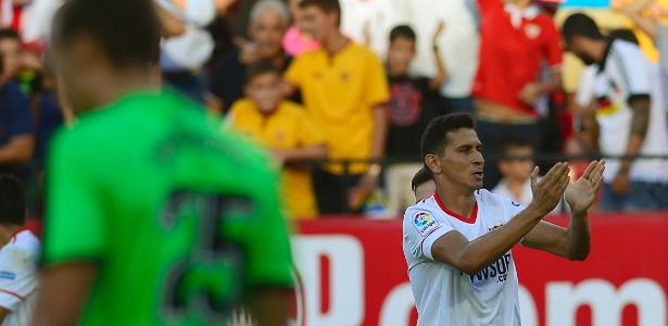 O time da Andaluzia pretende reaver parte do investimento de 9,5 milhões de euros em sua contratação em 2016. Foto: Cristina Quicler/AFP Photo - via UOL