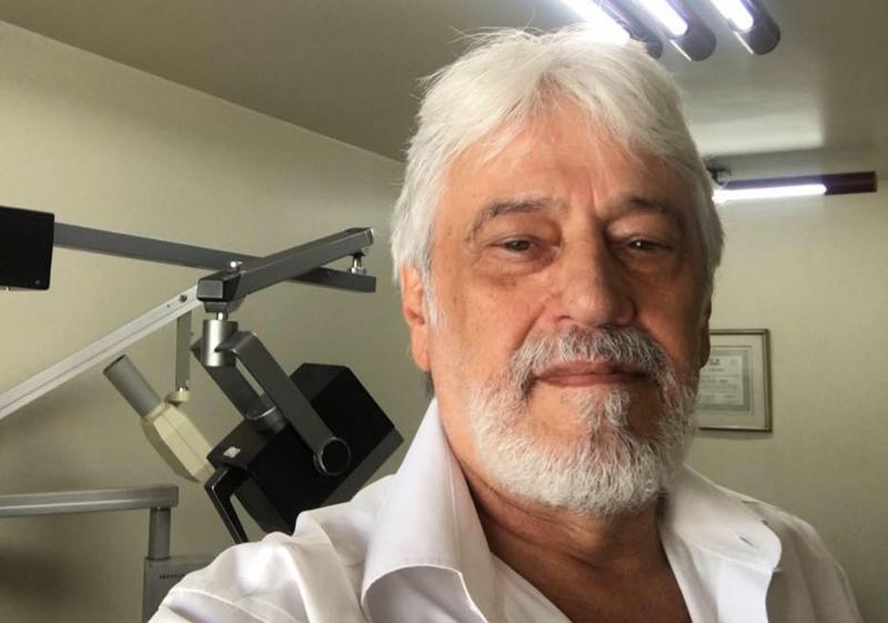 Ele estava com 68 anos e trabalhava na reestruturação do clube do Canindé. Foto: arquivo pessoal de Marco Antônio
