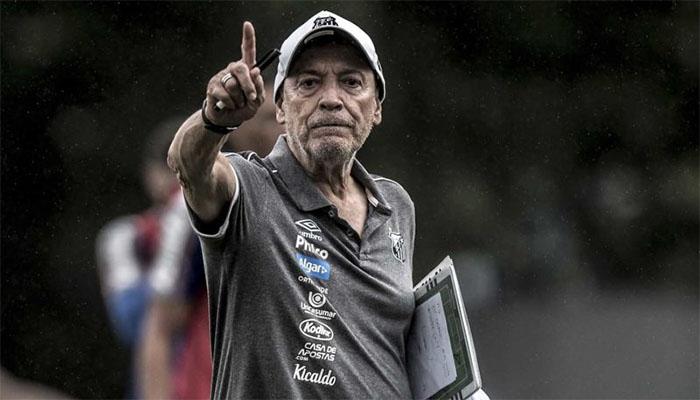 Jesualdo já viveu altos e baixos no Peixe. Foto: Ivan Storti/Santos FC