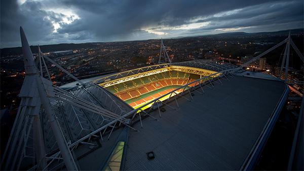 Local, em Cardiff, sediou decisão entre Juventus x Real Madrid. Foto: Reprodução/Twitter