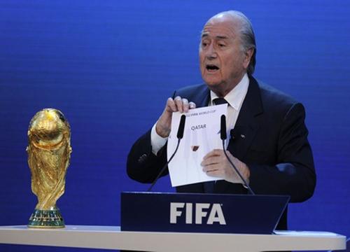 O país teria desembolsado US$ 880 milhões para sediar o Mundial em 2022