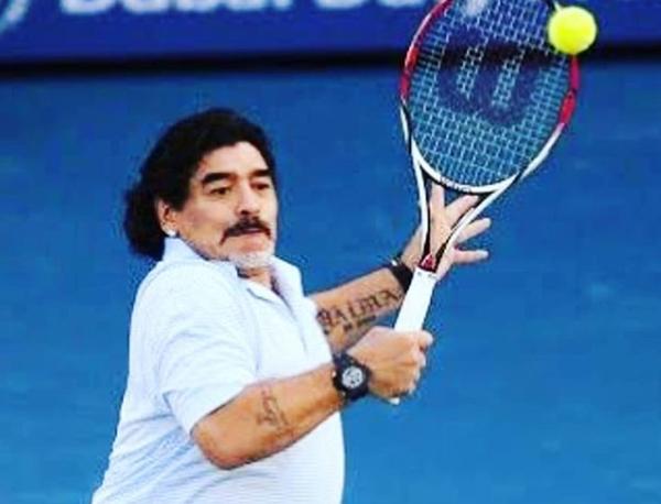 Confira a divertida história envolvendo o ex-tenista e o ídolo argentino