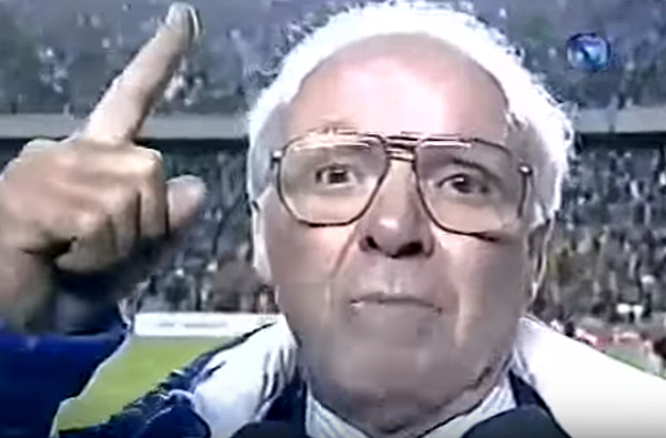 Conquista na Copa América de 1997 emocionou o treinador
