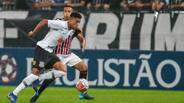 Timão vai enfrentar adversários do grupo do São Paulo nas rodadas finais. Foto: Ale Cabral/AGIF/Via UOL