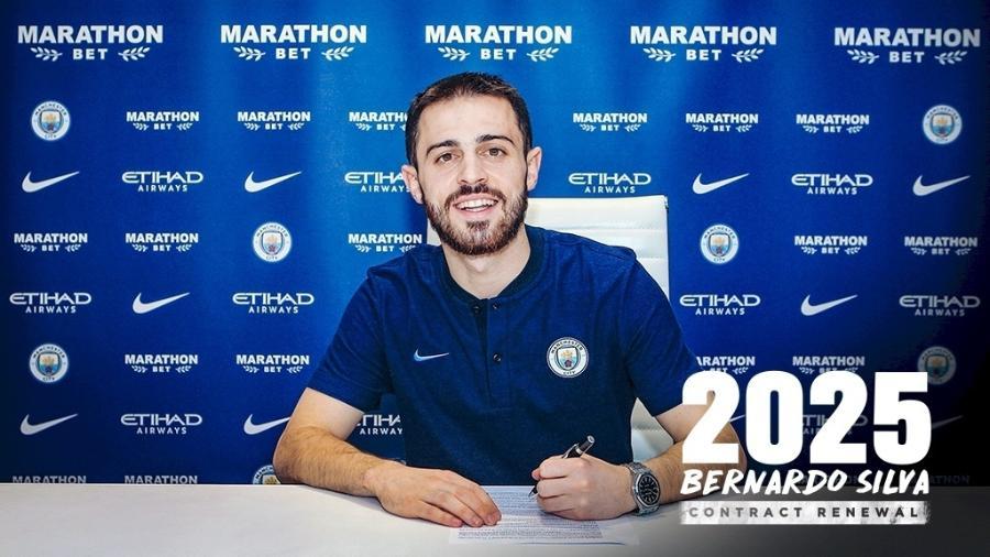 Bernardo Silva se tornou um dos principais jogadores do atual Manchester City de Pep Guardiola