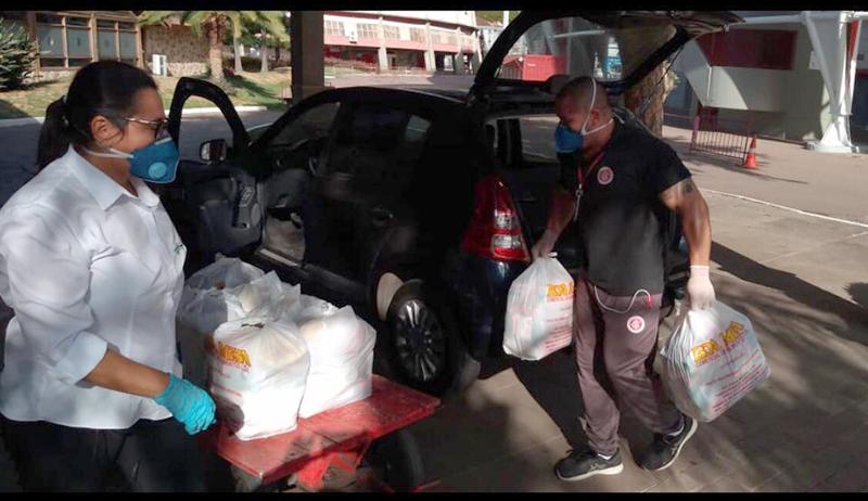 Doações podem ser feitas no Beira-Rio diariamente das 8h30 às 18h30. Foto: Divulgação/Inter