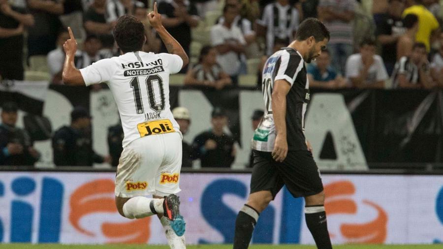 Camisa 10 voltou a atuar após quase um mês e marcou um gol no triunfo sobre o Ceará pela Copa do Brasil