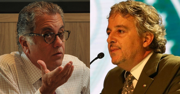 Ex-presidentes divergiram e entraram em atrito em 2014. Fotos: Karime Xavier/Folhapress e César Greco/Fotoarena/Via UOL