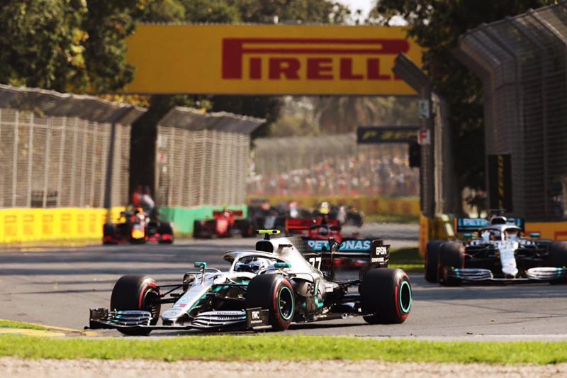 No GP da Austrália, carros prateados começaram muito melhor. Foto: Mercedes-AMG F1