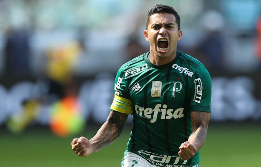 Dudu, um dos grandes nomes do Palmeiras. Foto: Cesar Greco/Ag. Palmeiras