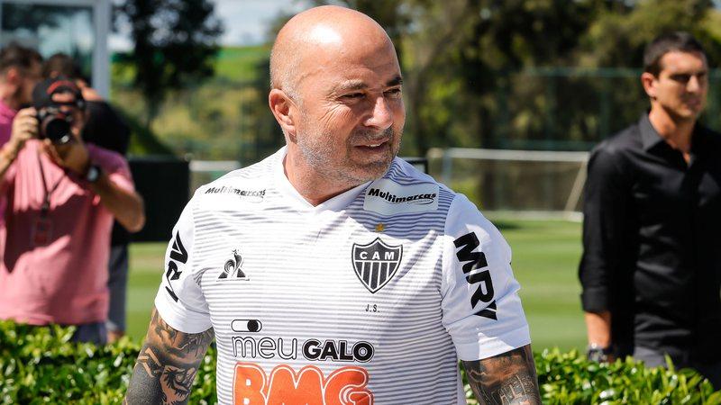 Sampaoli, técnico do Atlético-MG. Foto: Bruno Cantini/Atlético-MG