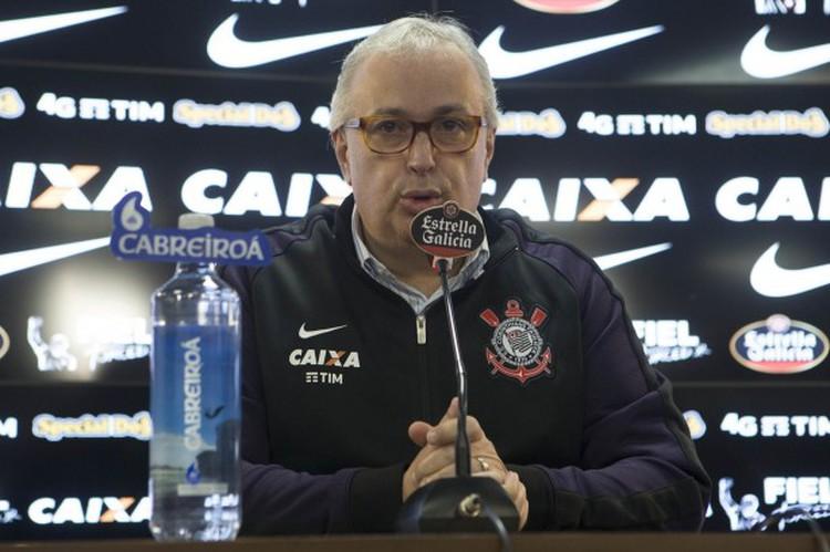 Roberto de Andrade, ex-mandatário do Timão. Foto: Daniel Augusto Jr./Ag. Corinthians