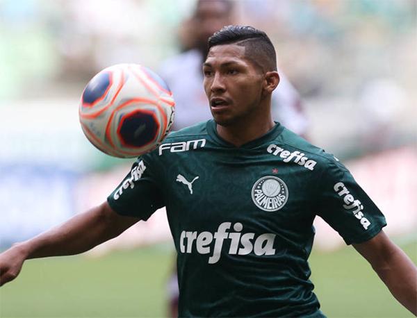 Rony, atacante do Palmeiras. Foto: Cesar Greco/Ag. Palmeiras