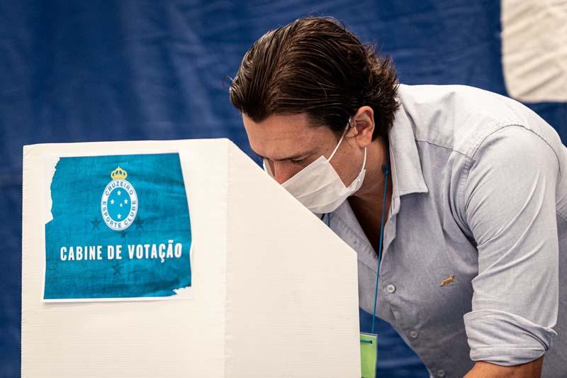 Sérgio Santos Rodrigues foi eleito nesta semana. Foto: Divulgação/Cruzeiro