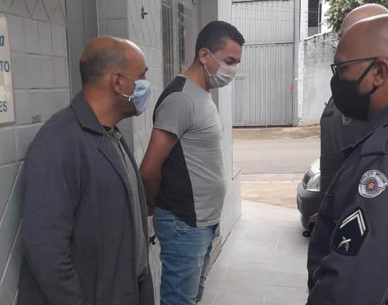 É a quarta detenção do ex-atleta pelo mesmo motivo. Foto: Guarda Municipal de Cordeirópolis