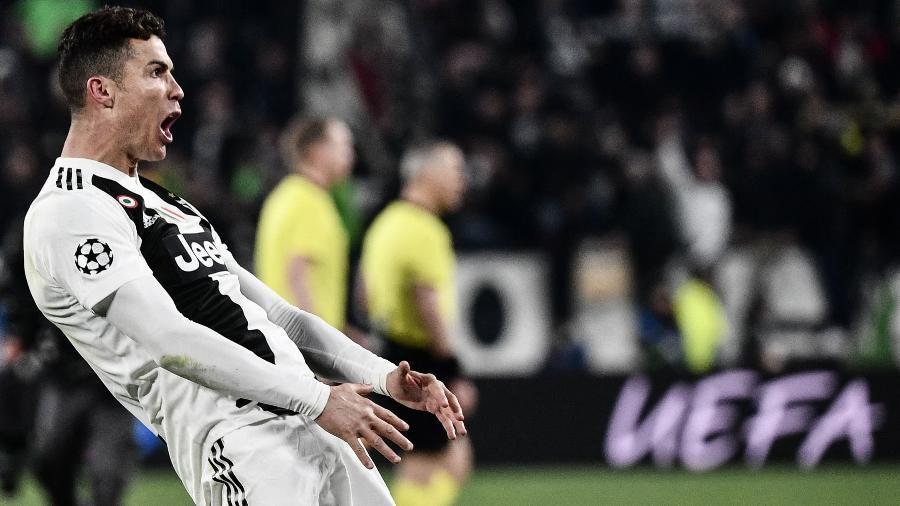 Cristiano Ronaldo provoca torcida do Atlético de Madri com gesto polêmico