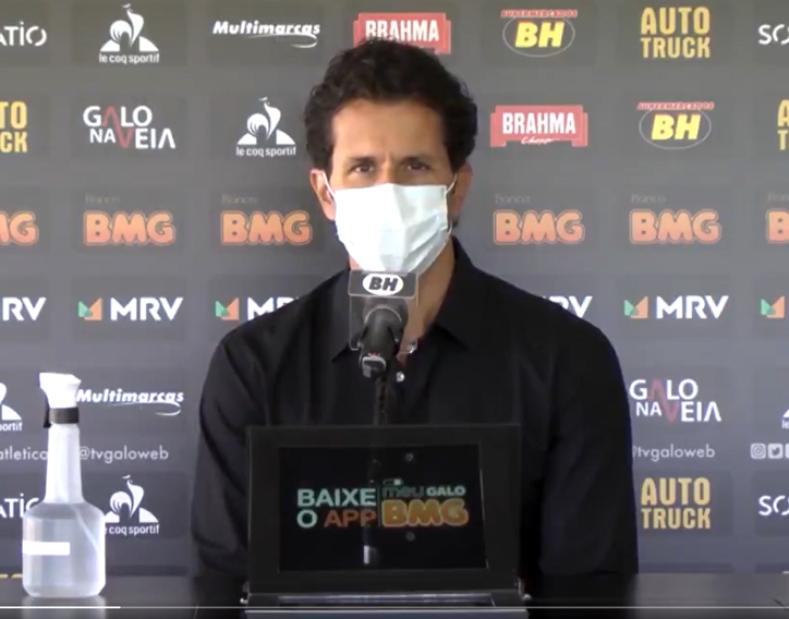 Médico do Galo detalhou sobre o quadro dos dois atletas. Foto: Divulgação/CAM