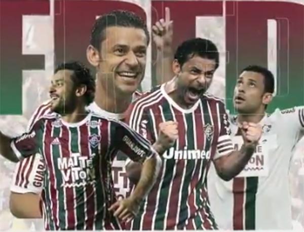 A primeira passagem de Fred pelo Fluminense, de 2009 a 2016, foi extremamente vitoriosa. Foto: Reprodução