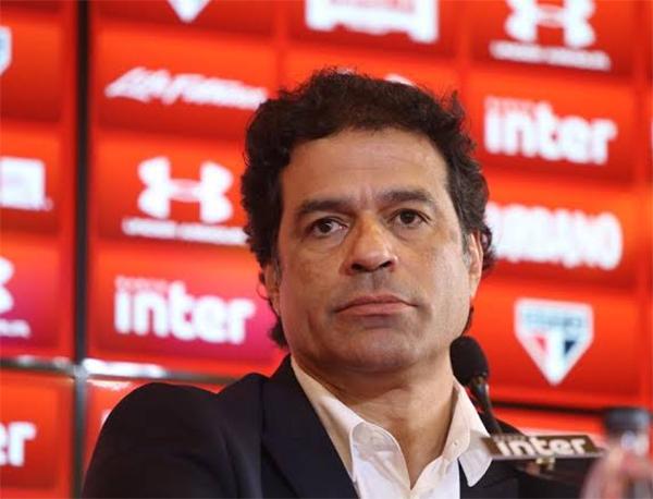 Raí, diretor de futebol do São Paulo. Foto: Rubens Chiri/SPFC