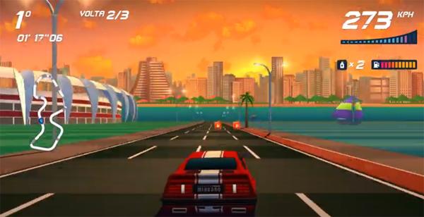 Inspirado no Miura, modelo protagoniza jogo de videogame. Imagem: Reprodução