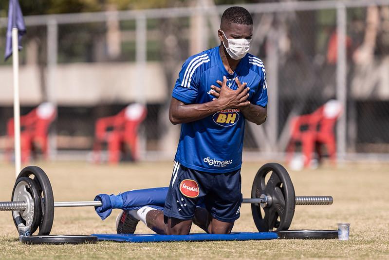 Jovem estreou pelo clube em 2018. Foto: Divulgação/Cruzeiro Esporte Clube
