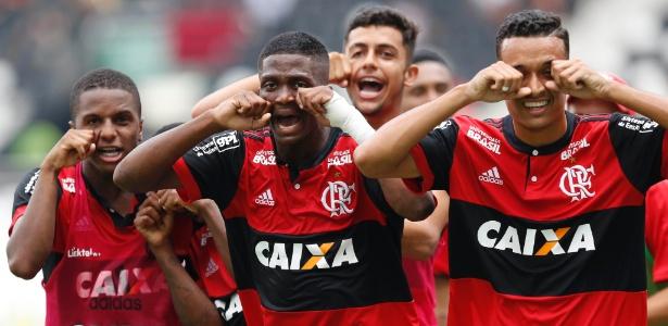 Juniores do Fla venceram no Sub-20 e provocaram com chororô. Foto: Rafael Ribeiro/Framephoto/Estadão Conteúdo/Via UOL