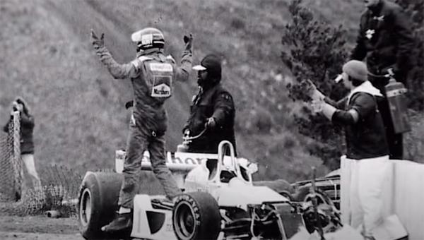 Britânico, que morreu há 27 anos, foi um personagem marcante da F1. Foto: Reprodução / YouTube