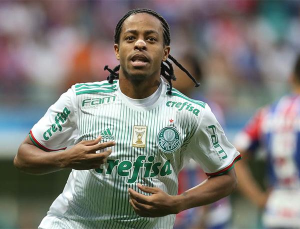 Keno tem contrato de empréstimo com o Al-Jazira até 30 de junho. Foto: Cesar Greco/Ag. Palmeiras