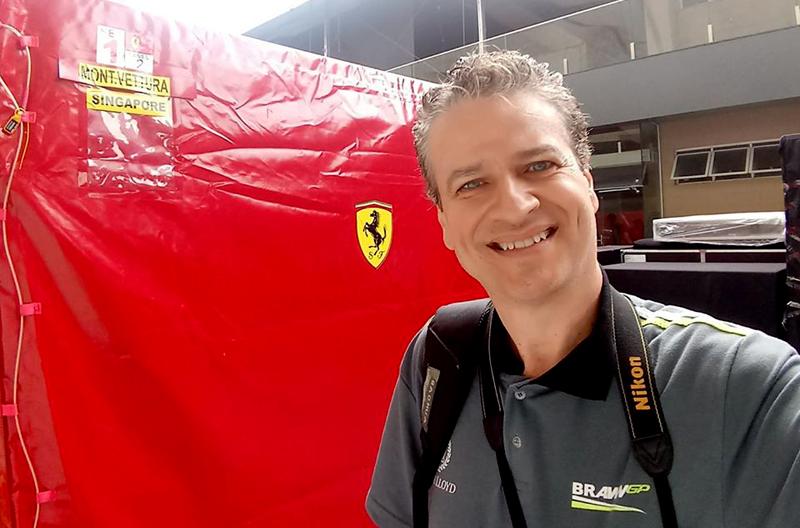 Em Interlagos, alguns dias antes do GP Brasil de F1 de 2019