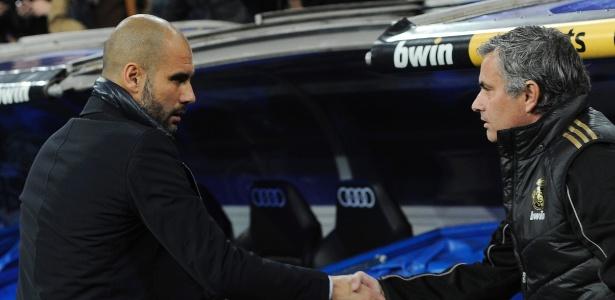 O confronto será o 17º entre Mourinho e Guardiola