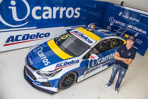 Pentacampeão segue na estrutura da Crown Racing. Foto: Bruno Terena / RF1