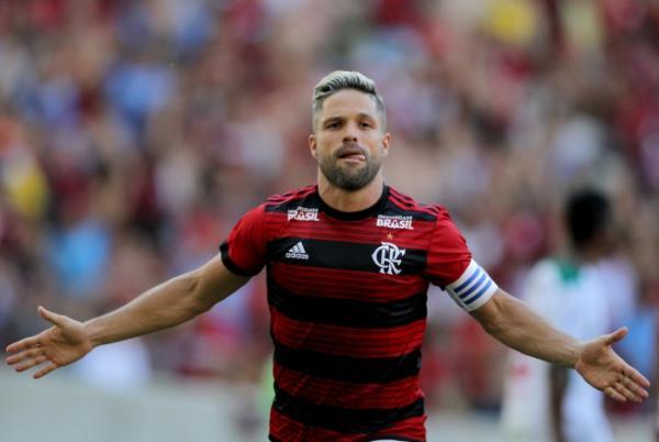 Diego, ídolo do Flamengo. Foto: Alexandre Vidal/Flamengo