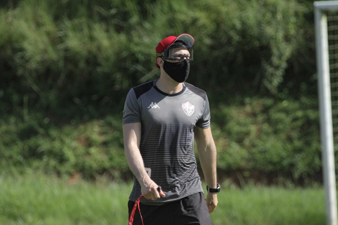 Bruno Pivetti também enalteceu o elenco rubro-negro. Foto: Letícia Martins / ECV