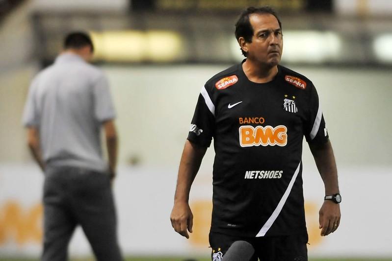 Muricy Ramalho, em 2011, quando comandou o Santos. Foto: Ivan Storti/Santos FC