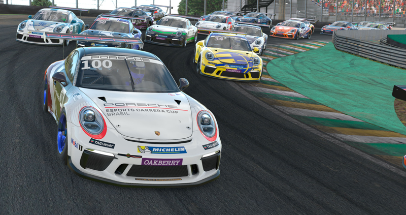 Campeonato virtual se inicia com etapa de Interlagos. Foto: Ferrari Promo