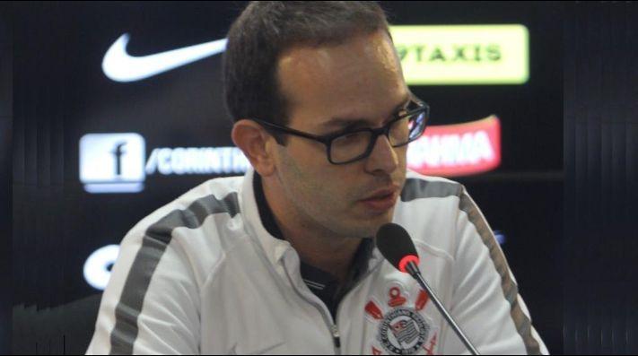 Ivan Grava, médico do Corinthians. Foto: Ricardo Taves/Agência Corinthians