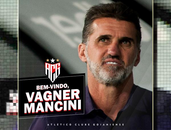 Vagner Mancini, novo técnico do Atlético-GO. Foto: Divulgação