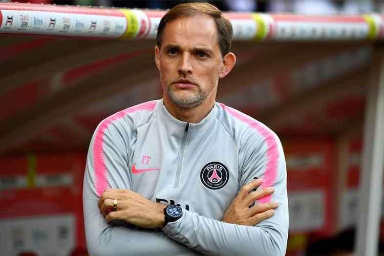 Thomas Tuchel, técnico do PSG. Foto: Divulgação