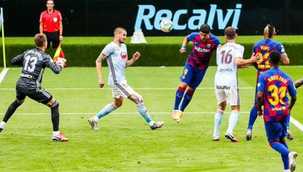 Barcelona e Celta de Vigo empataram por 2 a 2. (Foto: Barcelona)