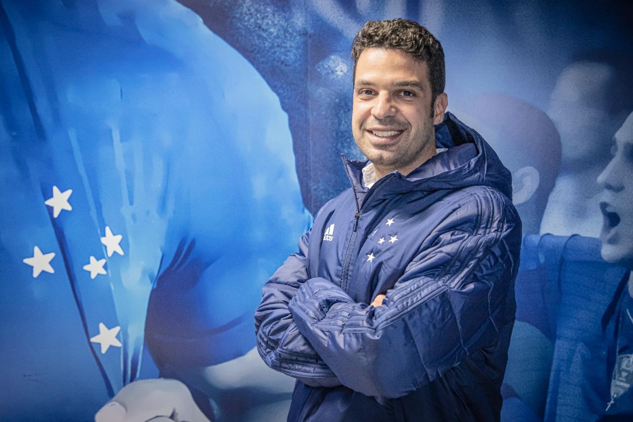 Pedro Moreira ocupava a supervisão de futebol. Foto: Igor Sales / Cruzeiro