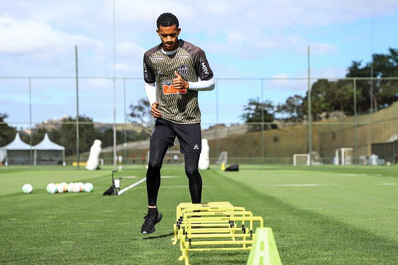 Borrero chegou neste ano ao Atlético. Foto: Divulgação / CAM