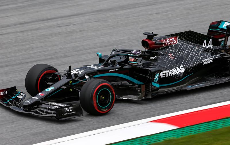 Hexacampeão registrou a melhor marca do fim de semana. Foto: Mercedes-AMG F1