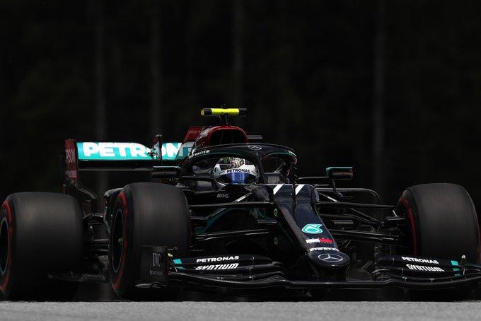 Finlandês começa a temporada do lugar de honra. Foto: Mercedes-AMG F1