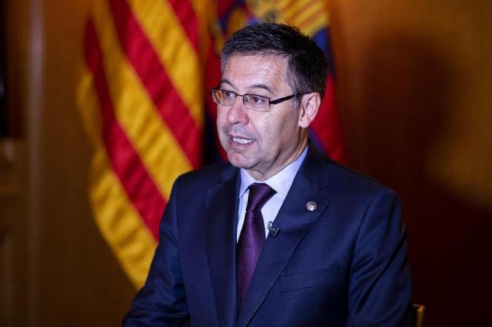 Bartomeu, presidente do Barcelona. Foto: Divulgação