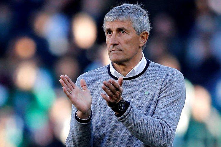 Setién, treinador do Barça. Foto: Divulgação