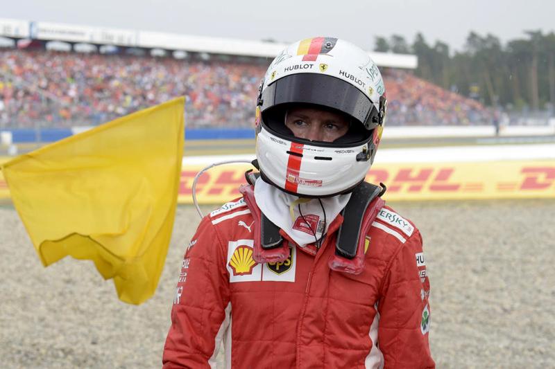 Alemão vive momento instável com sua Ferrari... Foto: UOL