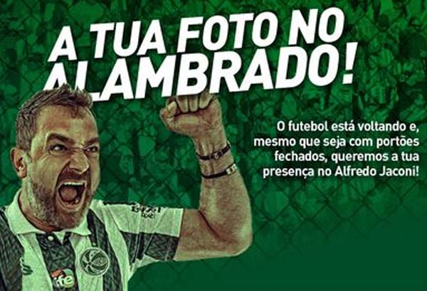 Iniciativa será válida para os jogos no Alfredo Jaconi. Foto: Divulgação / Juventude