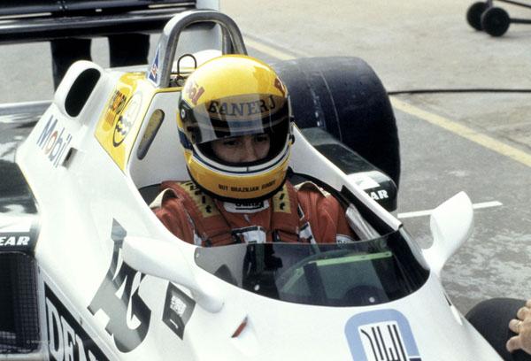 Brasileiro, então com 23 anos, bateu o recorde de Donington Park para carros aspirados