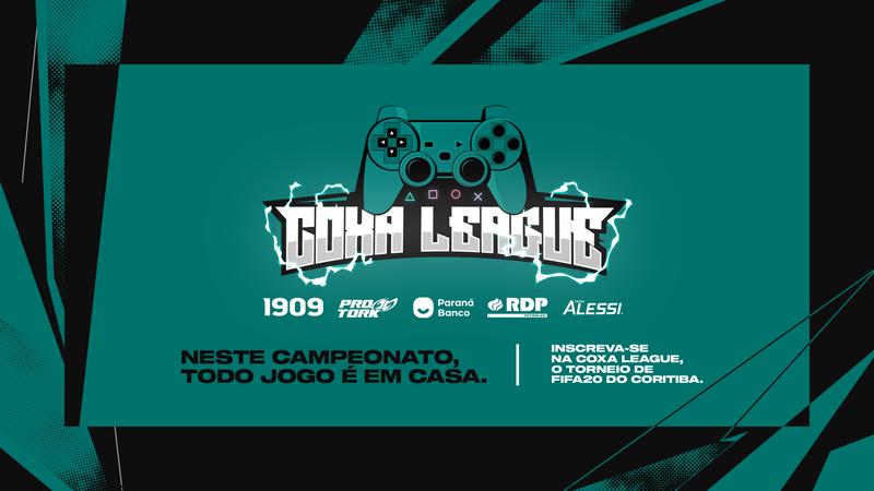 Clube paranaense promoverá competição virtual em várias plataformas. Imagem / Divulgação